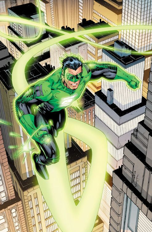 super-nerd:  Green Lantern by Jim Lee