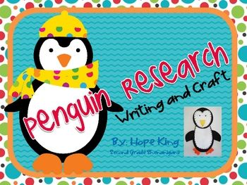 50 pg penguin unit 2nd grade $3.50 If we end up doing a large research project on penguins instead of owls next year this would be a GREAT resource