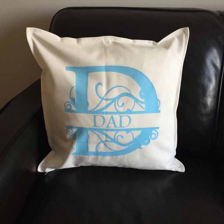 Gorgeous new cushion design 20 inches square.  Comes cello wrapped. £34.95 inc free UK postage. Please state what word/name you'd like. To order email Hello@weheartcards.com - thanks! #madeinengland #handmade #fathersday #madetoorder #Unique #cushion