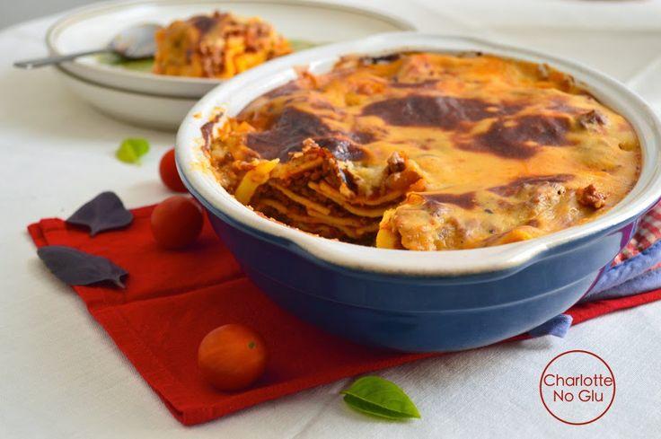 Lasagnes sans gluten et sans lactose