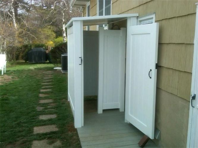 18 best Outdoor showers images on Pinterest | Outdoor showers ...