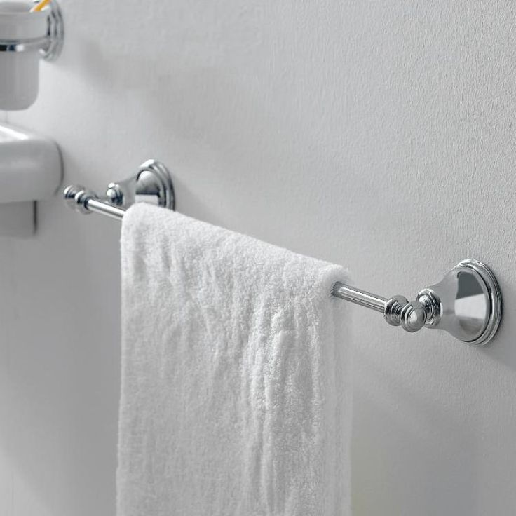 Handtuchhalter Dusche Ohne Bohren : Treemme Handtuchstange Serie 8200 Old Italy Chrom, Gold oder