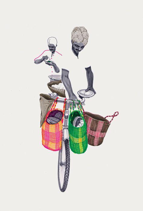 Bombay Duck Designs: Studio of Indian illustrator and visual artist, Sameer Kulavoor.