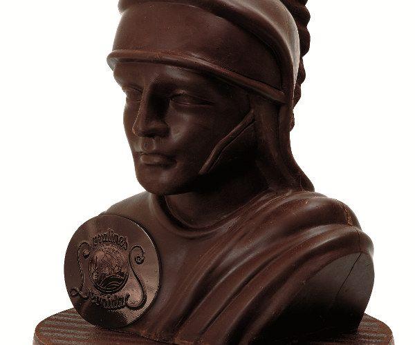 Buste Spartiate tout en chocolat - Leonidas
