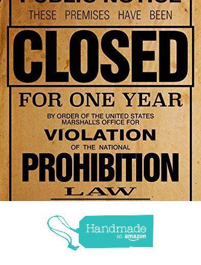 US Government Prohibition Poster Reproduction Home Decor Print Wall Art from CJ Prints https://www.amazon.com/dp/B01MYR7VHP/ref=hnd_sw_r_pi_dp_mEeuzb7GWH7G9 #handmadeatamazon