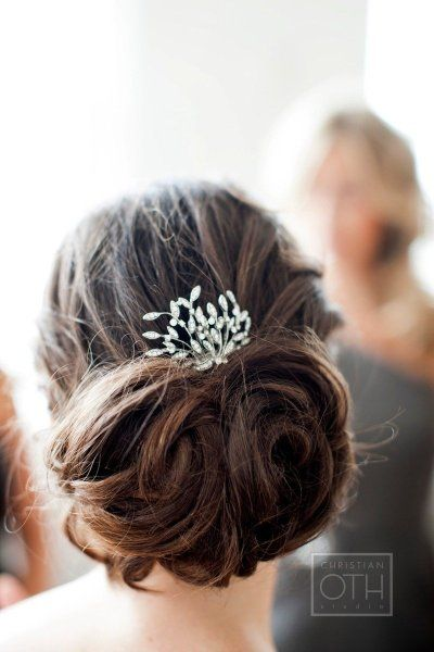 : Weddinghair, Idea, Buns, Weddings, Hair Style, Hair Accessories, Wedding Hairstyles, Updo, Hair Combs