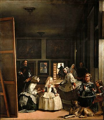 Las Meninas (1656) is by far the most recognized and famous painting of Velazquez.