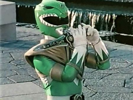 Green Ranger & Dragon Dagger