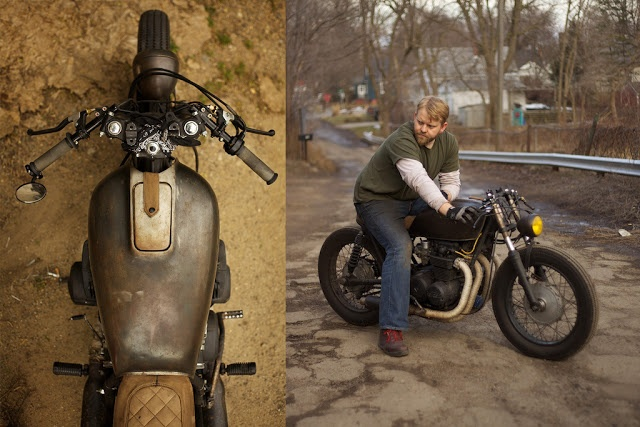Heartbreak Cycleworks Honda CB550 ~ Return of the Cafe Racers