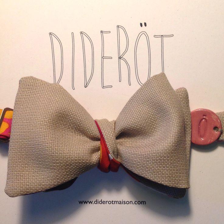 Diderotmaison bow tie - noeud papillon - DA15