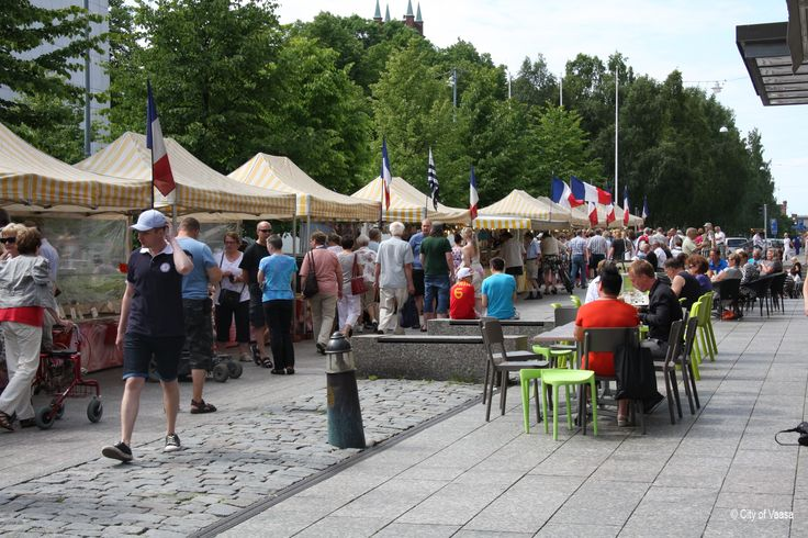 European Food Market 2013 @ Vaasa www.visitvaasa.fi Photo: Elina Havu