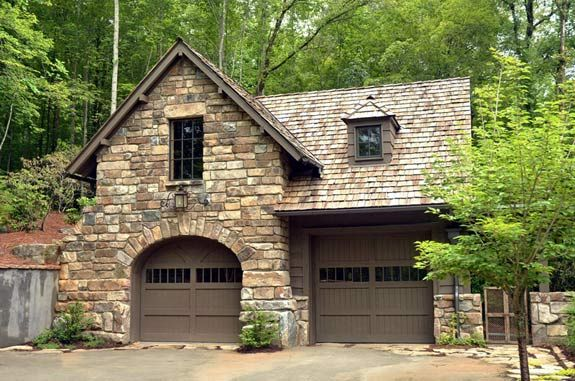 Rustic Detached Garages With Room On Top Garage The