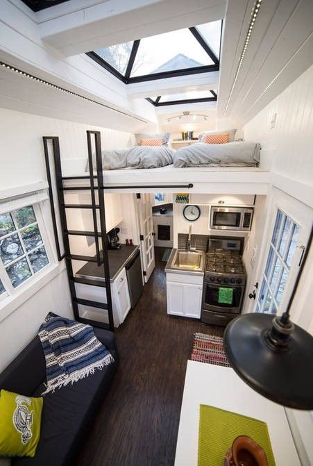 This Is A Custom Built Tiny House On Wheels That You Can Rent Airbnb In