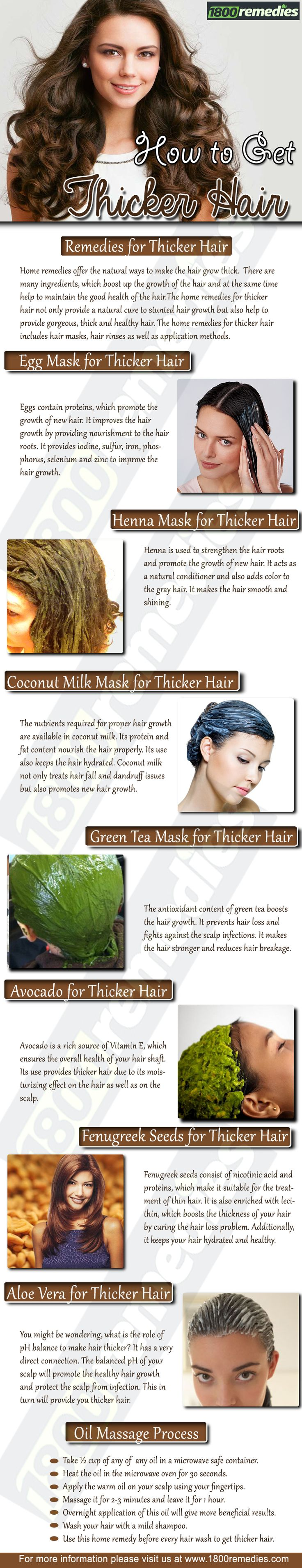 How to have thick hair