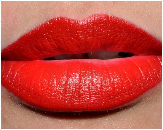 """Russian Red"" lipglass by MAC"