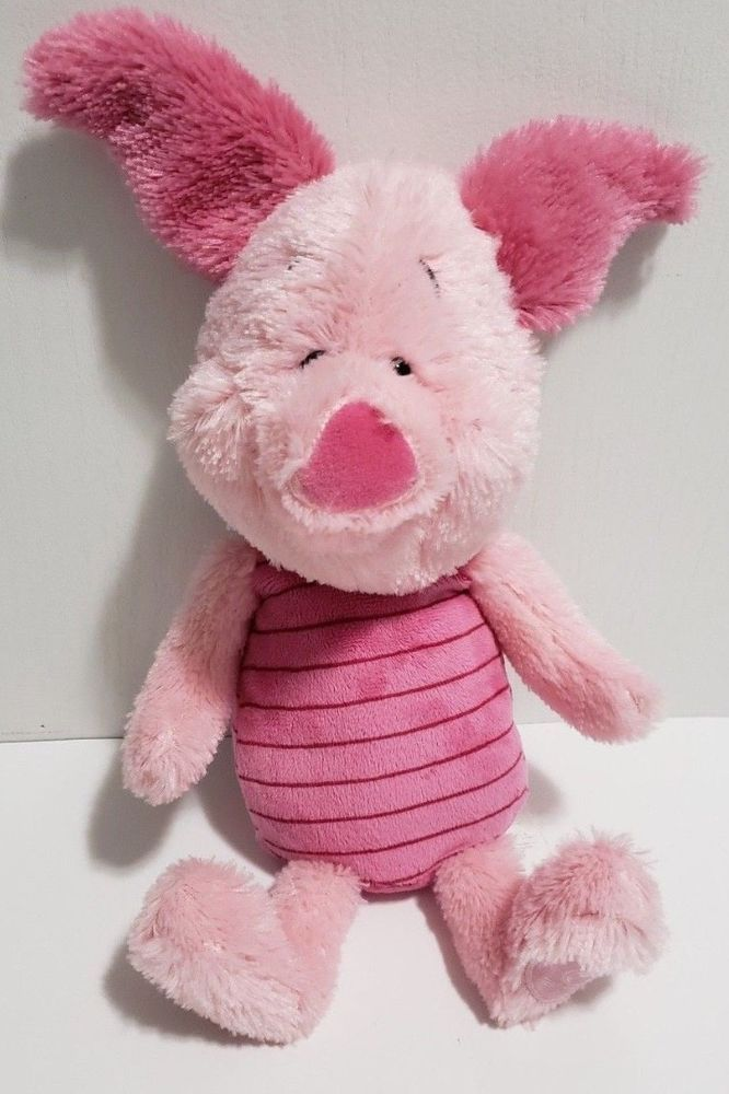 NEW MY FIRST PIGLET PLUSH TOY OFFICIAL DISNEY CLASSIC WINNIE THE POOH GIFT 0