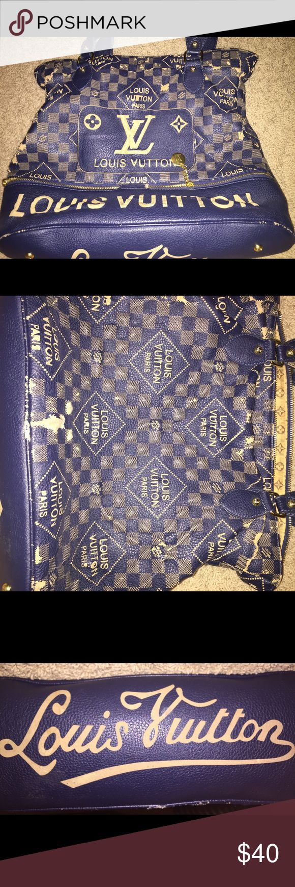 Fake Louis Vouitton bag Fake Louis Vouitton bag- PRE OWNED / front ripped Bags