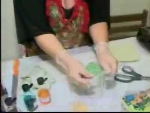 Como criar sabonete artesanal para o Natal com Neuzete Paes - YouTube