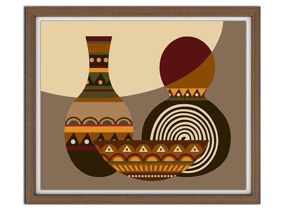 Pop Art African 40x40