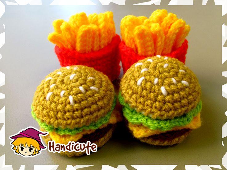 Burger Set Amigurumi by imuya.deviantart.com on @deviantART