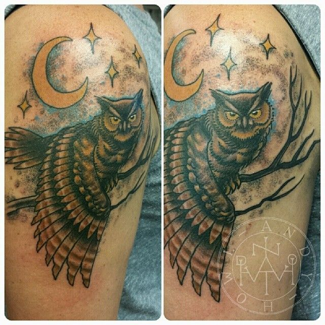 7 best owl bird tattoos images on pinterest bird for Famous tattoos fort myers
