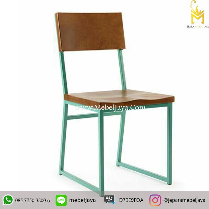 Jual Kursi Cafe Besi Minimalis - Untuk kebutuhan furniture kursi cafe Industrial Anda dengan harga terjangkau dan Good Quality From Jepara.