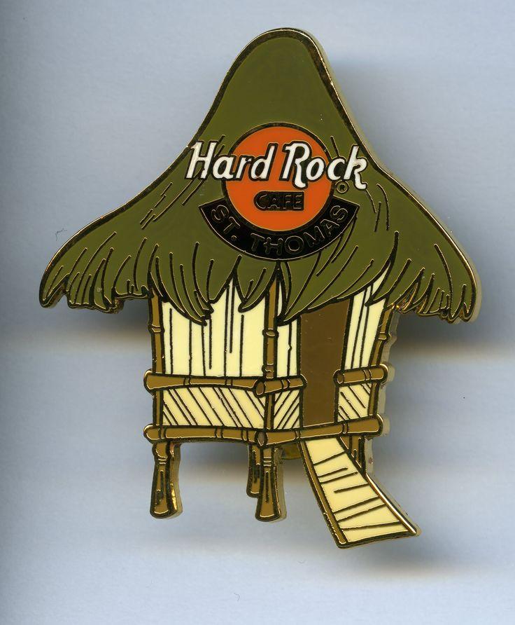 St. Thomas - Hard Rock Cafe Pin