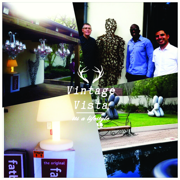 Launch of the Fatboy brand in South Africa - showcasing works from Brett Rubin and Dambudzo Chiwandire