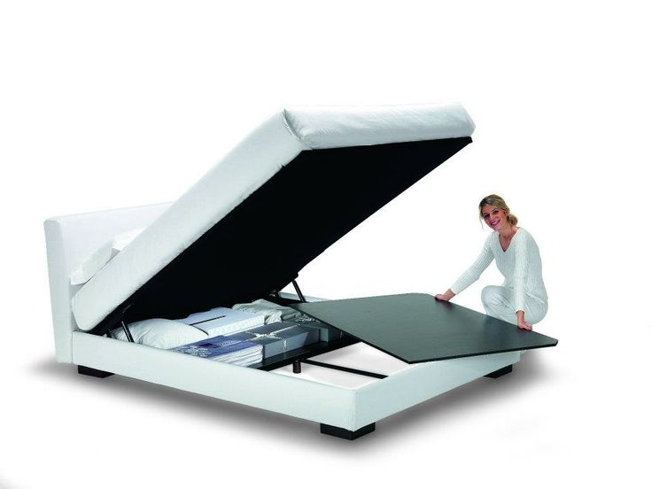 it's easy to clean underneath your storage #bed! http://www.oggioni.it/english/prodotti.asp
