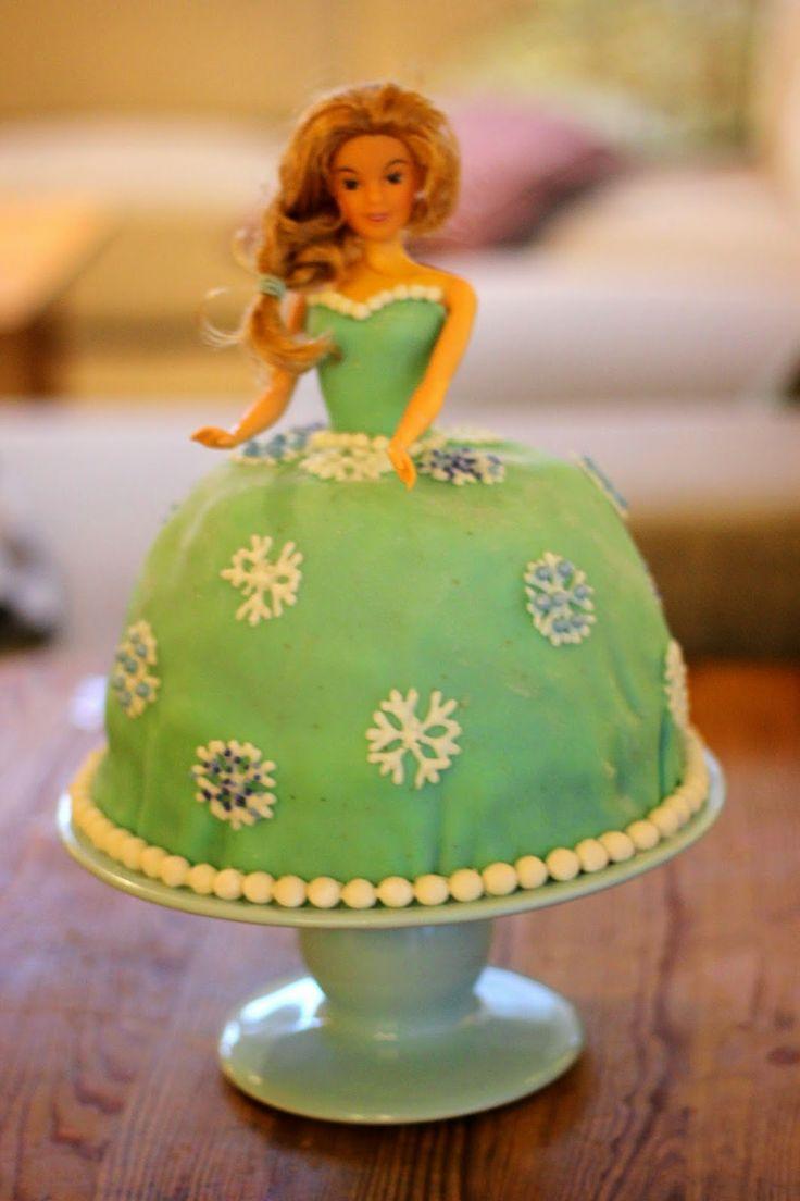 Prinsessekake til 4 års bursdag
