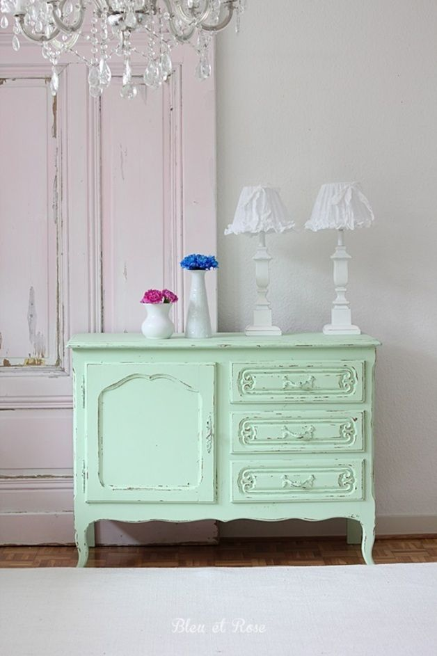 1000 images about carmelo dressor on pinterest navy for Mint green furniture paint