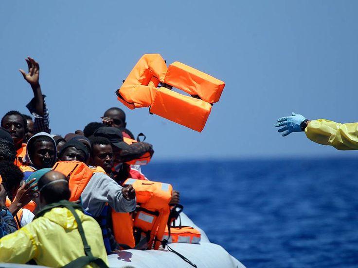 Refugees fleeing conflict
