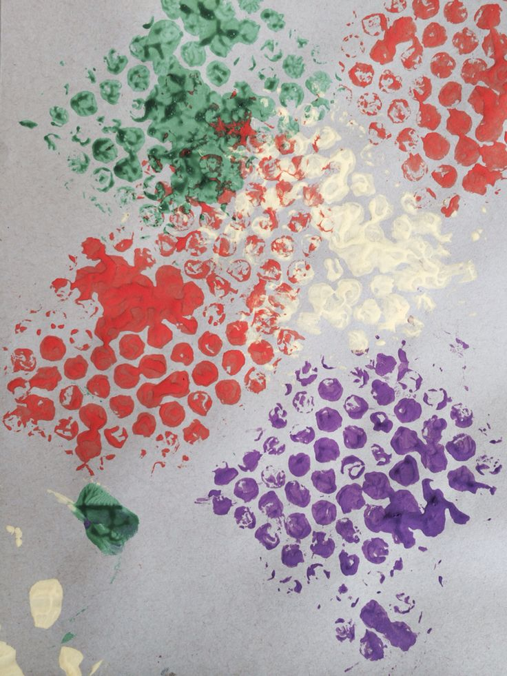 Bubble wrap printing