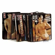 Naked Male Playing Cards    Playing cards was never so much fun! Great for Bucks Nights, gifts or card collectors.  Cards feature attractive nude males!!     Packaging and pictures may change from time to time.   Price: $8.95  http://www.hensandbrides.com.au/item_1279/Naked-Male-Playing-Cards.htm