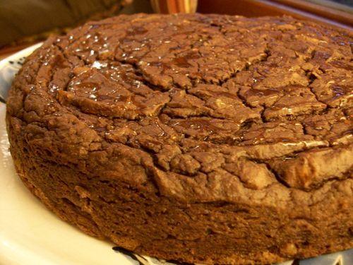 Torta de batata y chocolate. #sinharinas