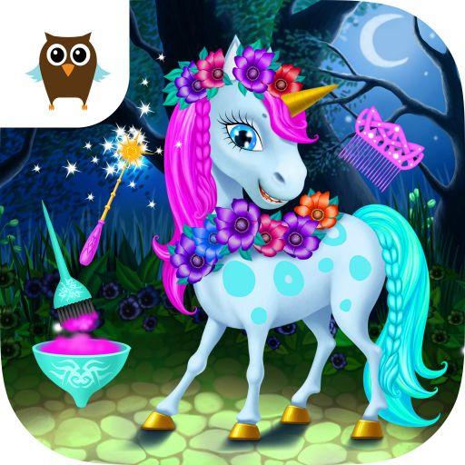 Fairyland Beauty Salon Dragon, Unicorn