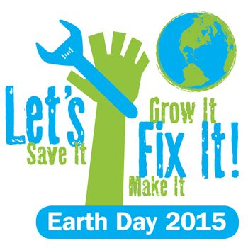 Wishing everybody a Happy Earth Day 2015! Reduce, Reuse, Recycle, Restore, Replenish - 5Rs that will save our home!