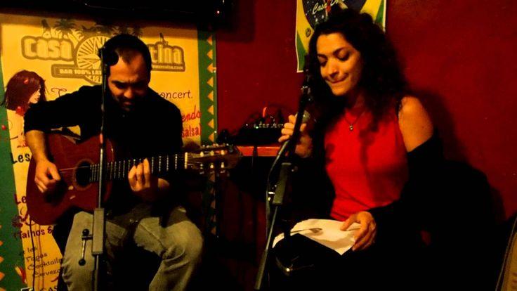 Historia de amor by Virginie Bourdin & Marc Rosa à Spain Break Casa Lati... Historia de amor by Virginie Bourdin & Marc Rosa à Casa Latina #bordeaux http://youtu.be/Ph3NwbDZP40 #musique #concert #mojito #spain