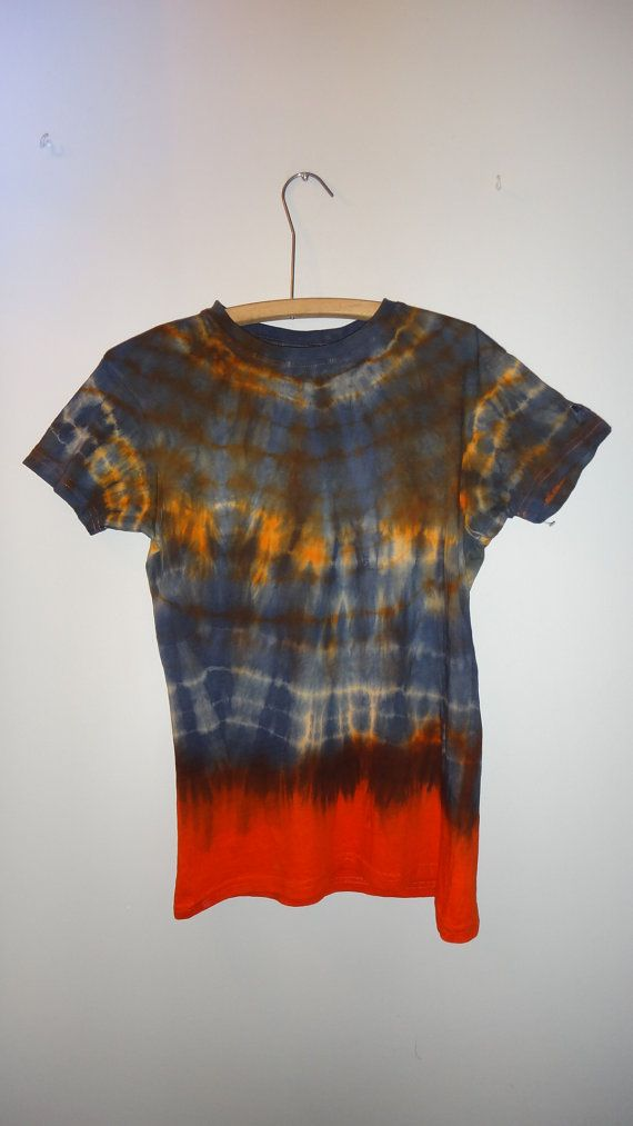 Large Tie dye t-shirt by WiseWitchWear on Etsy