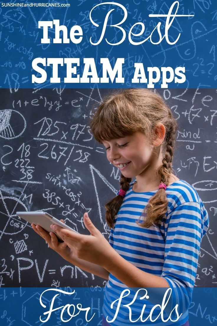Looking for a way to make learning fun? STEAM (aka science, technology, engineering, arts and math) make up the core of your child's education. Help them excel in all areas by making the process enjoyable with these STEAM Apps. A great way to reinforce le