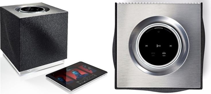Mu-so Qb wireless music system delivers sound that defies size