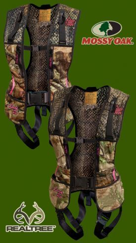 One of the most awesome things made for women bow hunters! Hunt safe!