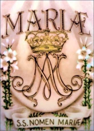September 12 th , Feast of the Holy Name of Mary And the virgin's name was Mary. (Luke 1:27) Today the Church honors the Holy Name ...
