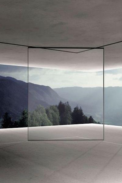 open: doorzichtig met veel zichtbare binnenruimte