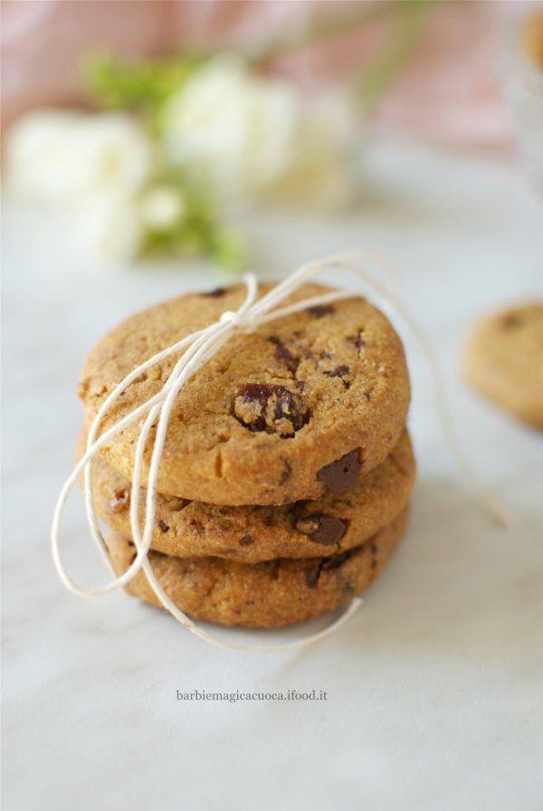 biscotti integrali con farina di mais