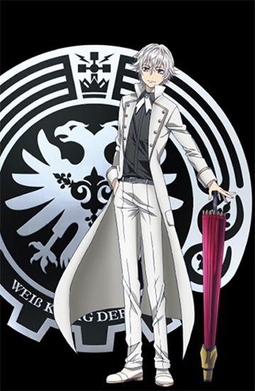 Isana Yashiro ( Adolf K. Weismann ) the Silver King   K: Return of Kings