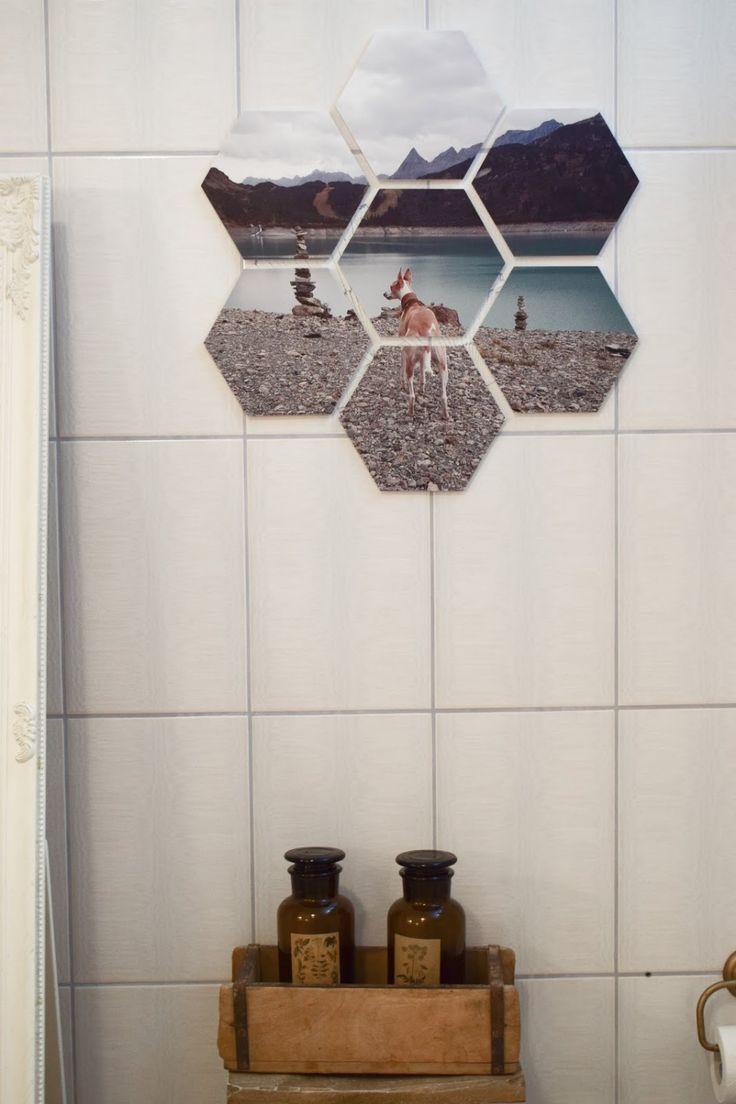 Diy Verschonerung Wandfliesen Im Bad Einfach Und Schnell Wandgestaltung Urlaubsfotos Diy Bader