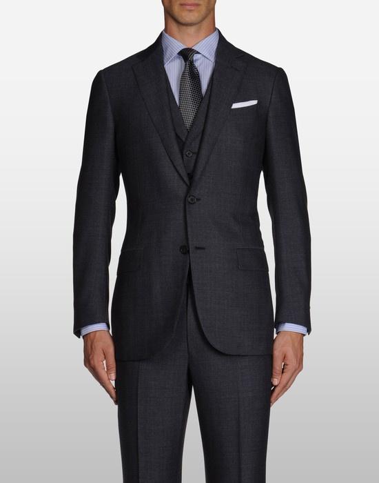 Love a guy in a nice suit!  Beautiful Ermenegildo Zenga suit