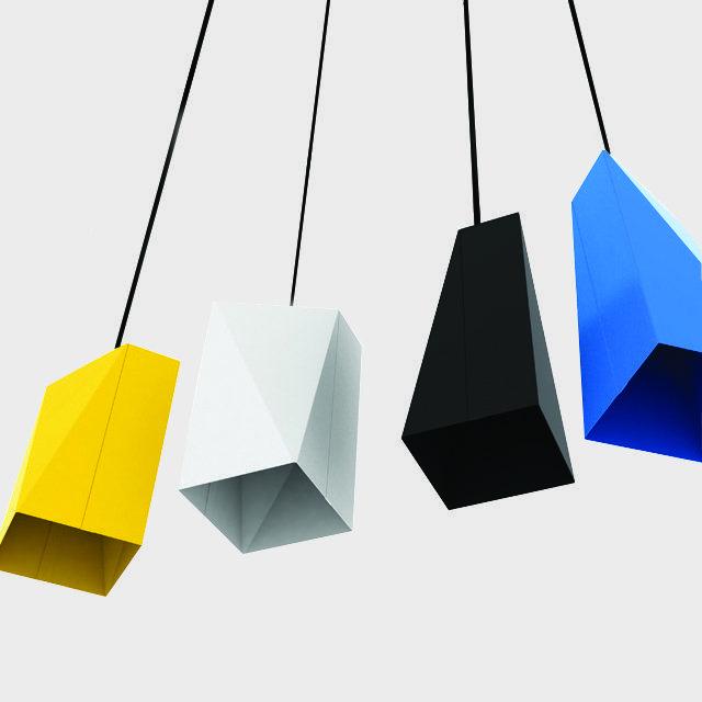 Fancy - Facet Pendant Light by Autumn Design Studio