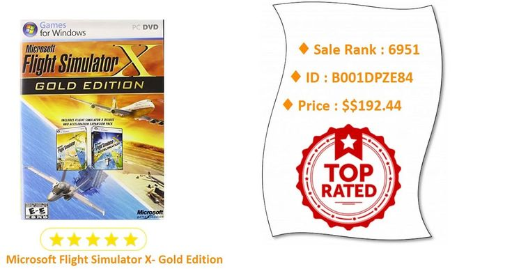 Microsoft Flight Simulator X- Gold EditionCoupon  Buy it on Amazon  http://suggestionstips.com/Product.html?2p3R4NF  Discount Microsoft Flight Simulator X- Gold Edition Best Sellers  Click the link to buy now or to read the 4 & 5 Star Reviews.  Like us on Facebook for videos pictures coupons prizes and more  https://www.facebook.com/Suggestion-Amazon-Product-216189025620711/  Discount Microsoft Flight Simulator X- Gold Edition Best Sellers  View On WordPress  via Tumblr http://ift.tt/2HyKDZo